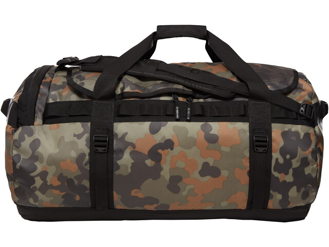 1bd03183f The North Face Base Camp Duffel L new taupe green macrofleck camo print/tnf  black